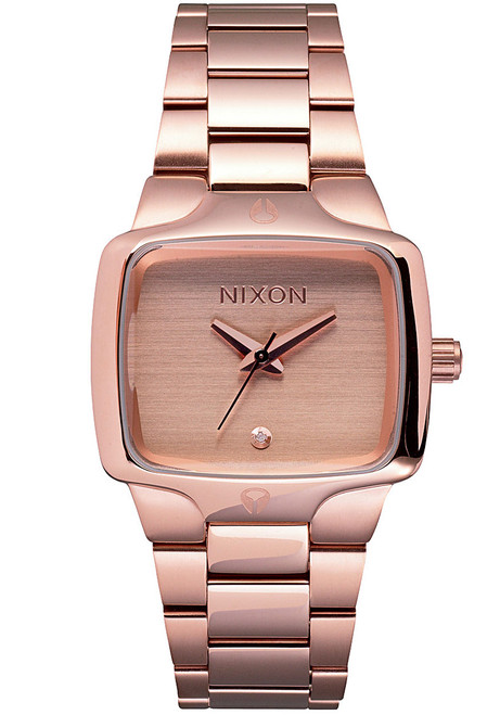 Nixon Small Player Rose Gold