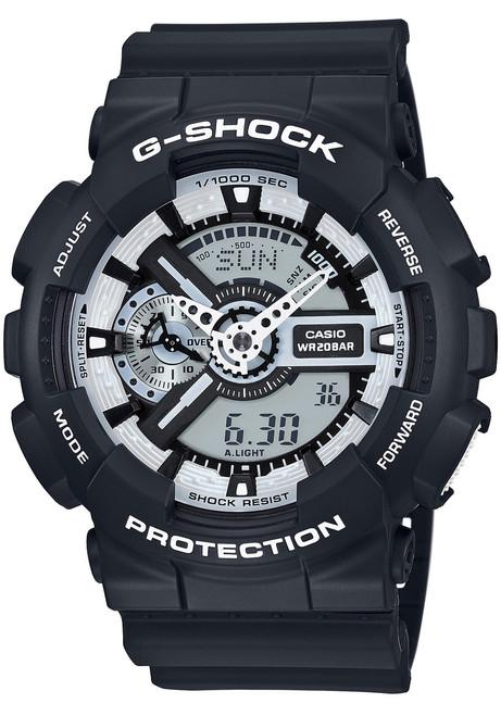 G-Shock GA-110BW-1A Black/White Series