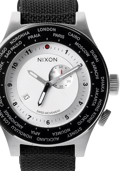 Nixon Passport White/Silver/Navy