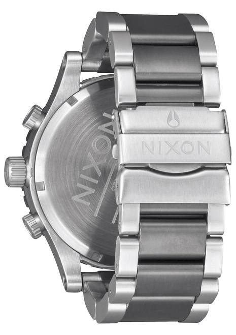 Nixon 51-30 Chrono Gunmetal/Aqua Sunray