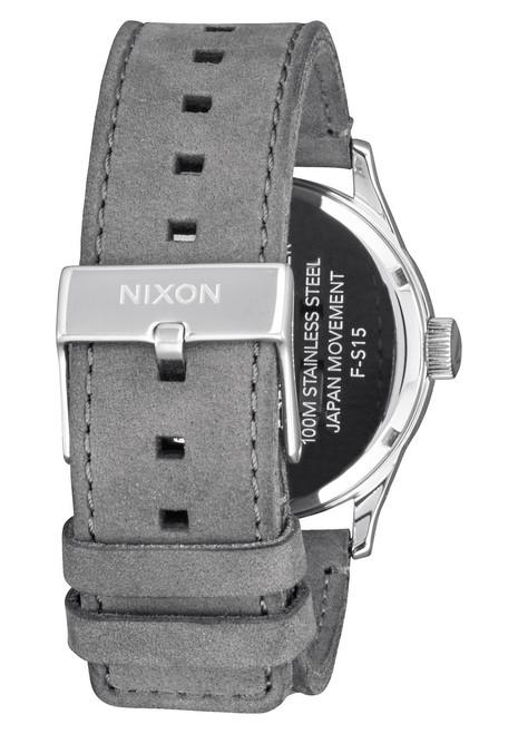 Nixon Sentry Leather Charcoal