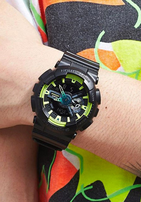 G-Shock GA-110 Sporty Illumi Series Black (GA-110LY-1A)
