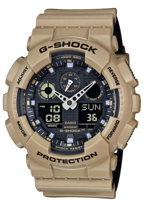 G-Shock GA-100 Military Series Sand (GA-100L-8A)