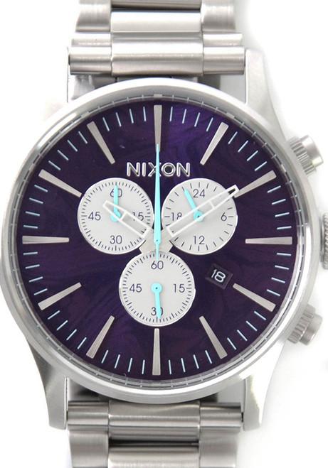 Nixon Sentry Chrono Purple (A386230)
