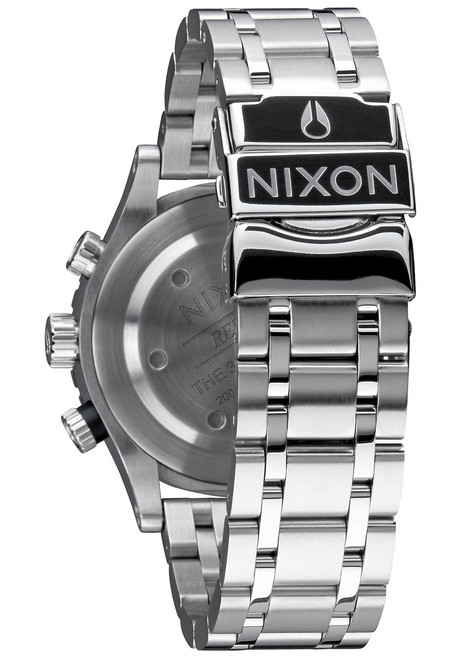 Nixon 38-20 Chrono Navy Rose Gold (A4042195)