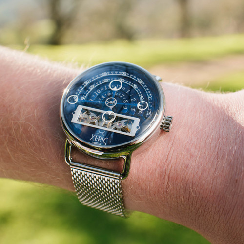 Xeric halograph automatic mesh navy for Watches xeric