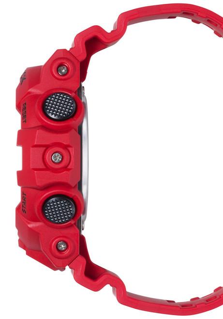 G-Shock GA-700 Anadigi Red Black (GA-700-4A) SIDE