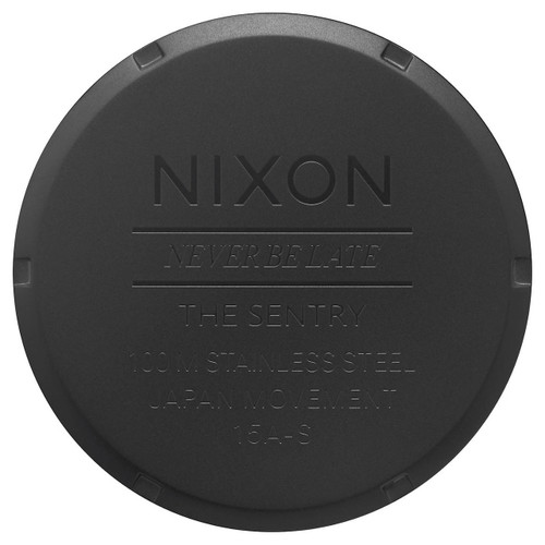 Nixon Sentry SS Black Rose Gold (A3562051)