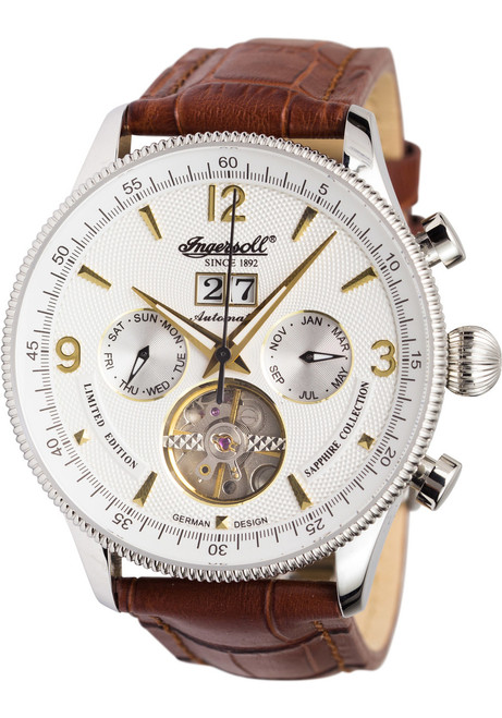 Ingersoll IN1710WH Neuschwanstein Castle Automatic Brown (IN1710WH)