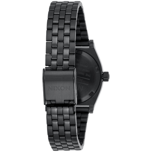 Nixon Small Time Teller Black Crystal Rose Gold (A3992525)