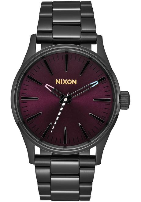 Nixon Sentry 38 SS Black Purple (A450192)