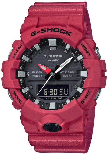 G-Shock Midsize Analog-Digital Red GA800-4A (GA800-4A)