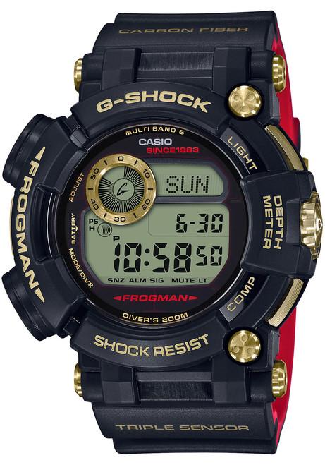 G-Shock Frogman Gold Tornado 35th Anniversary Limited Edition (GWFD1035B-1)