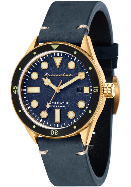Spinnaker Cahill Automatic Brass Blue (SP-5033-06)
