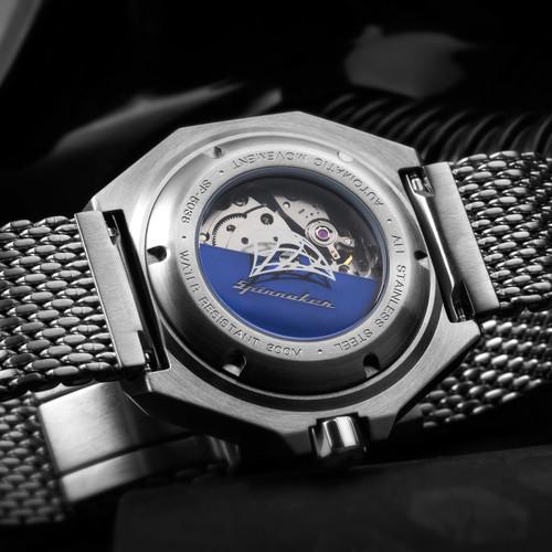 Spinnaker Dumas Automatic Silver Black (SP-5038-02)