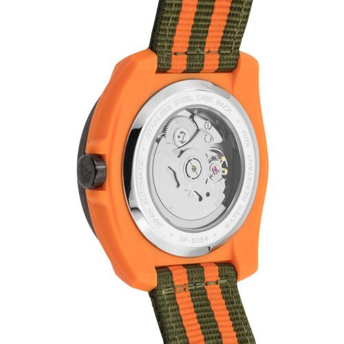 Spinnaker Marina Automatic Orange Black (SP-5054-05)