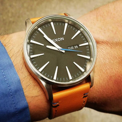 Sentry Leather Watches