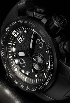 Zodiac PitchBlack Watches
