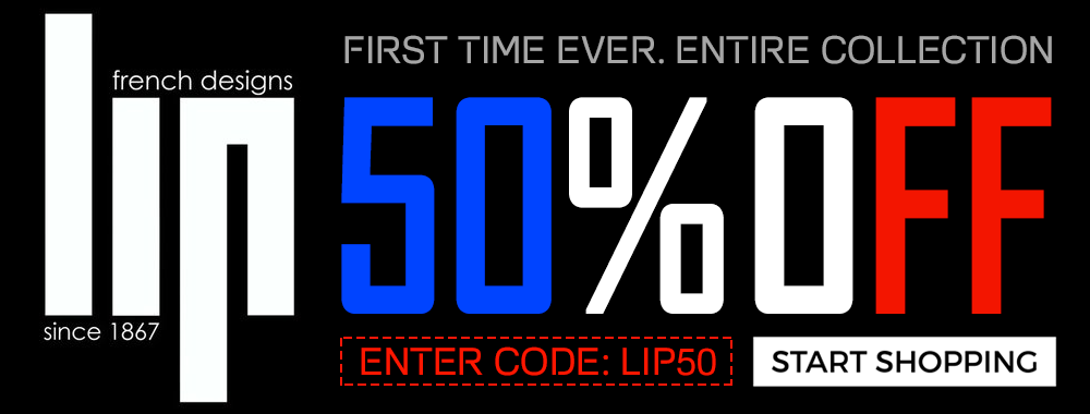 LIP 50% OFF BANNER