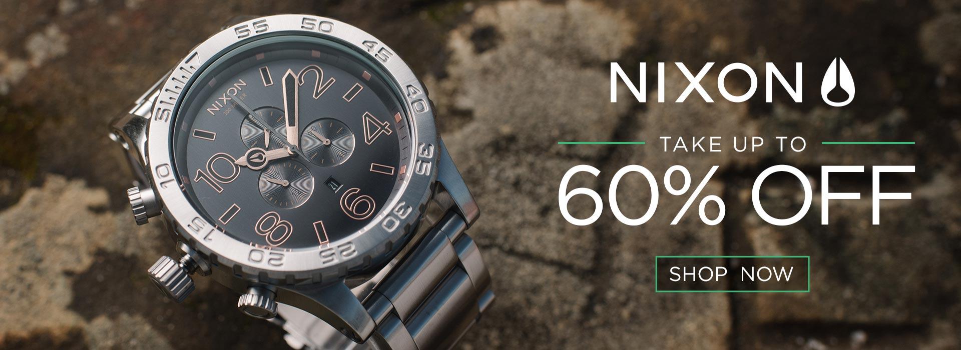 Nixon Watches 51-30 on Sale