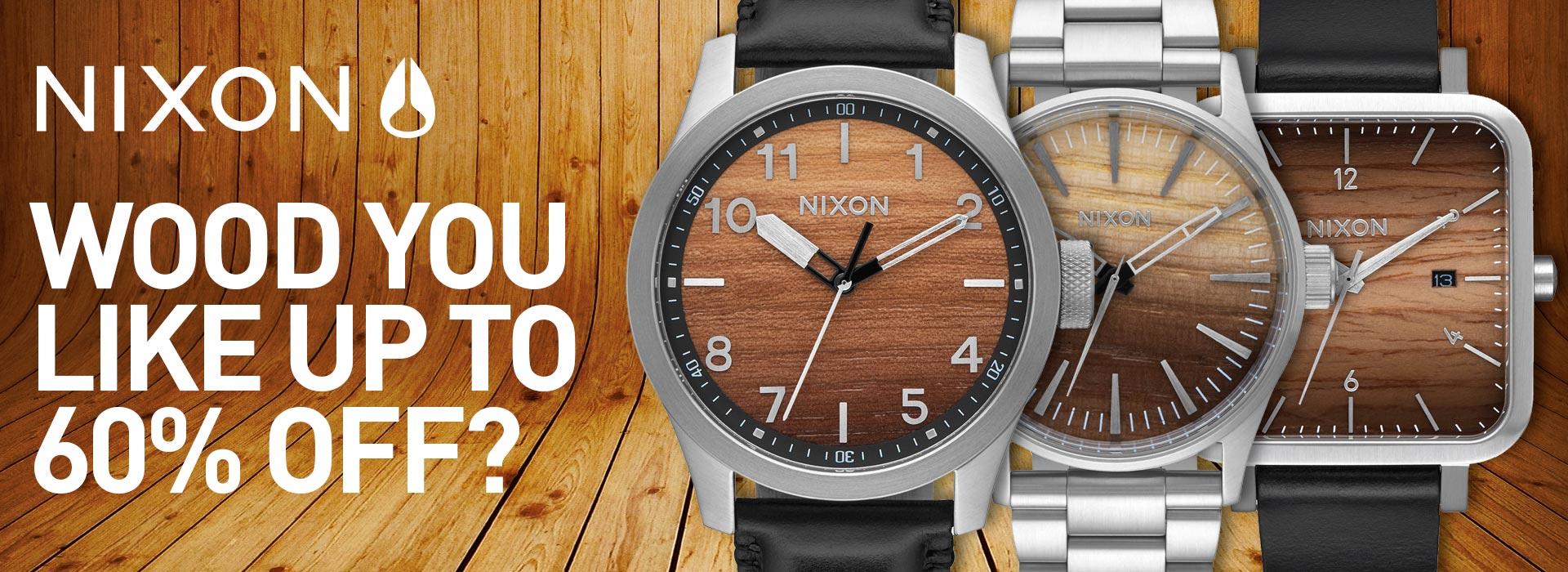 nixon watches on sale