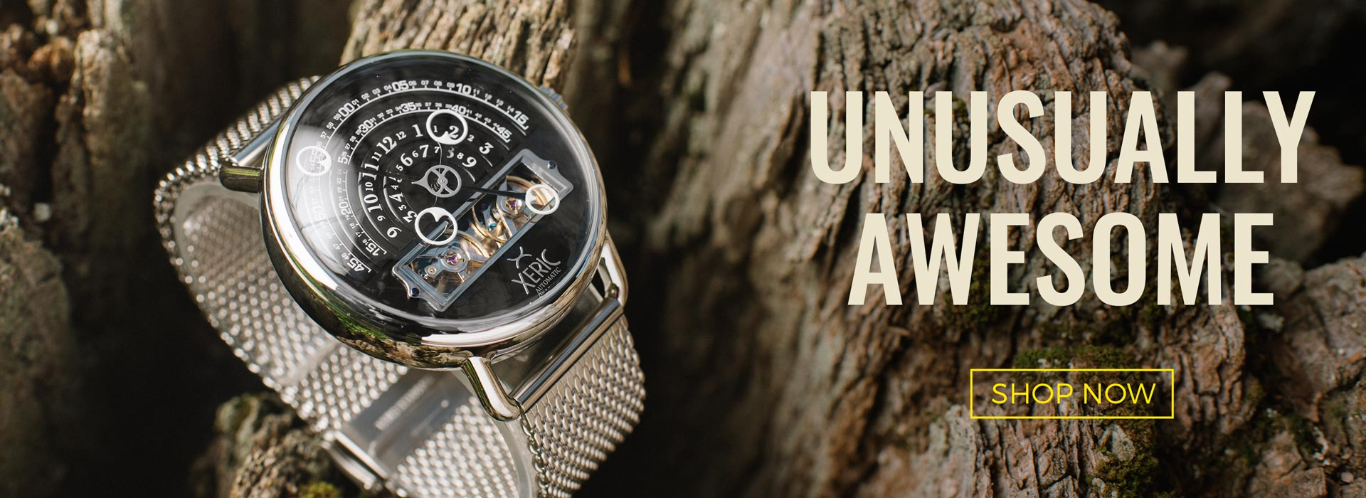 xeric halograph unusual watches