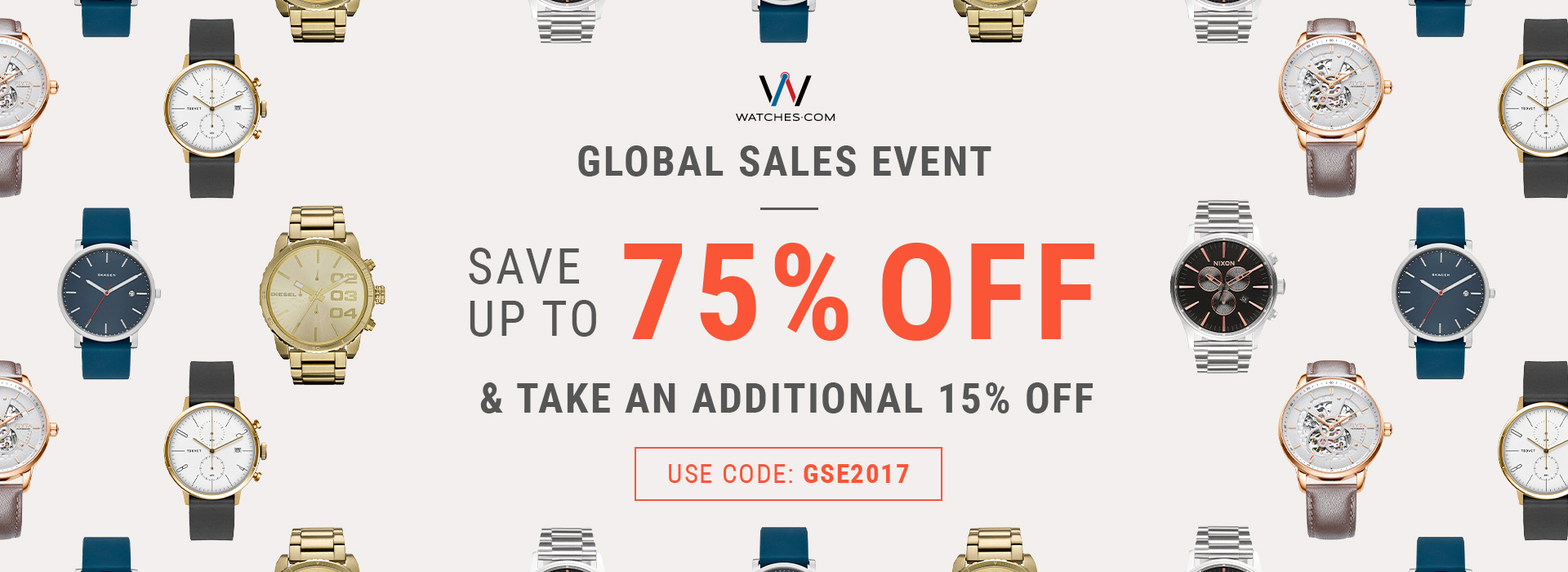 watches.com global sales event