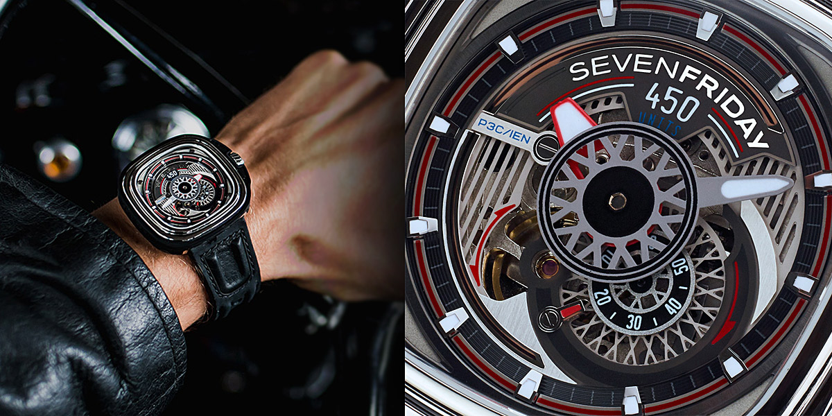 Seven Friday P3C/01 Hot Rod Limited Edition Watch