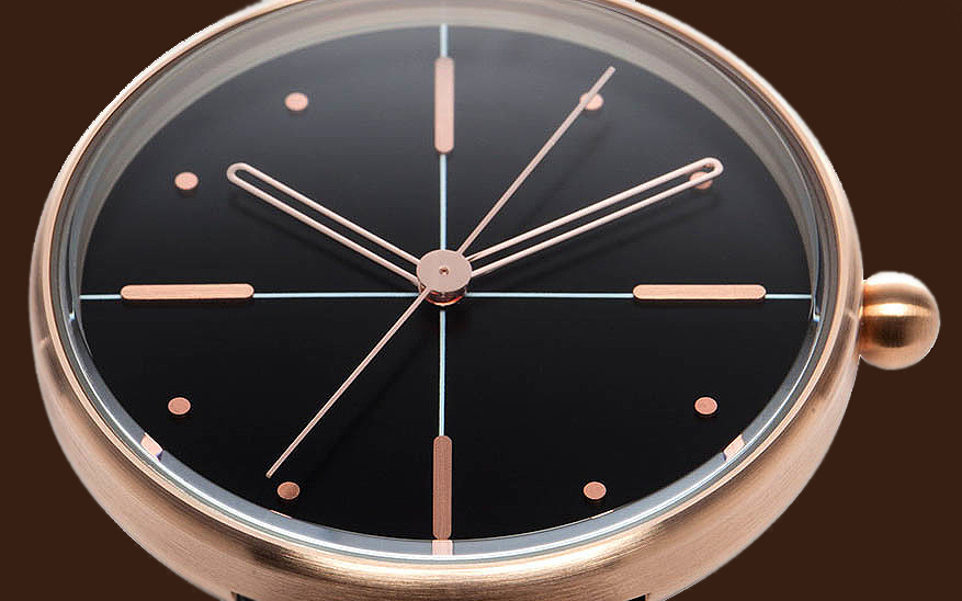 Aark Collective Dome Rose Gold