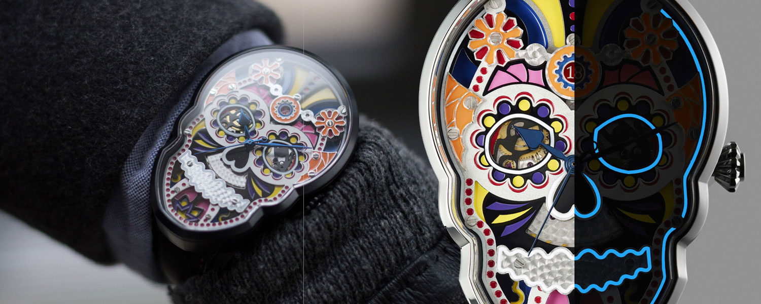 Fiona Krüger Skull Watch Collection