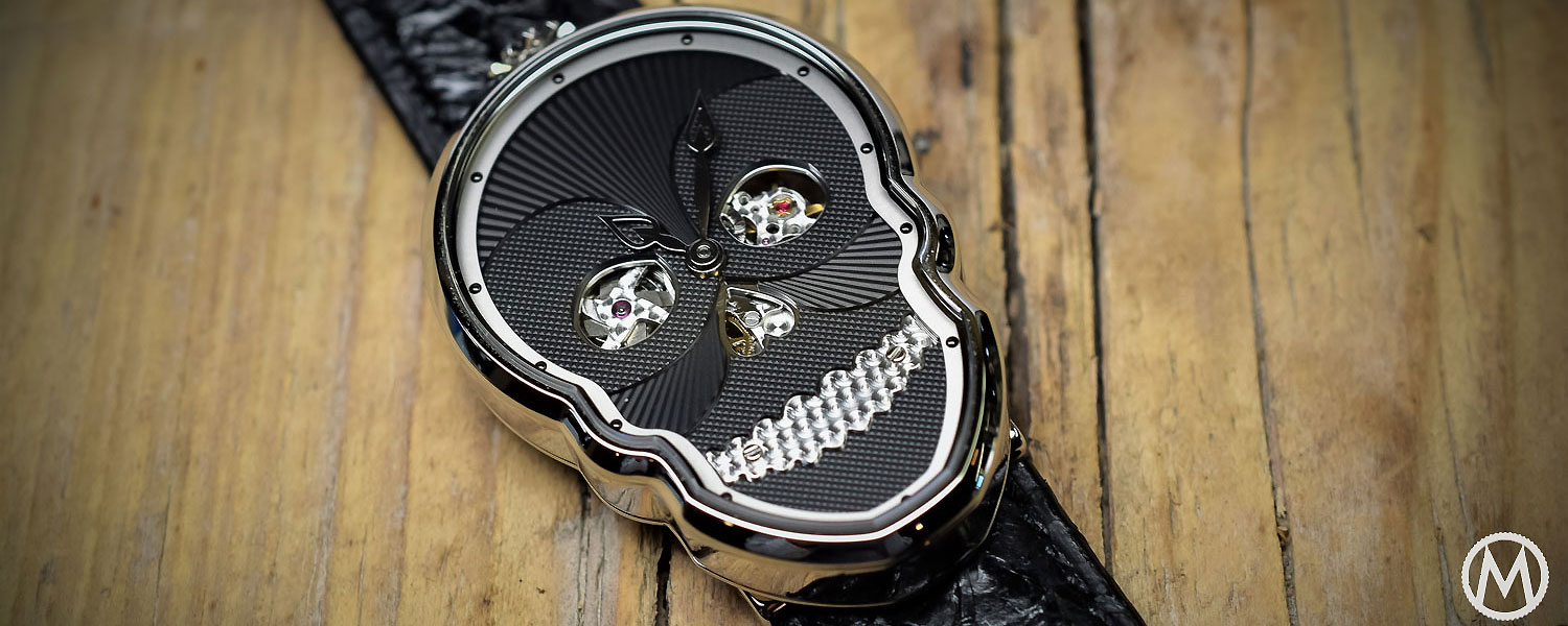 Fiona Kruger Skull Watches