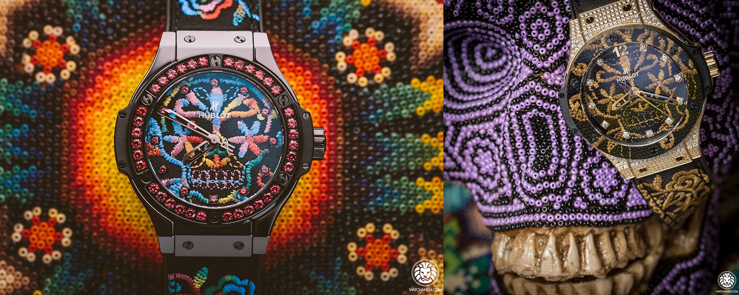 Hublot Big Bang Boderie embroidery watches