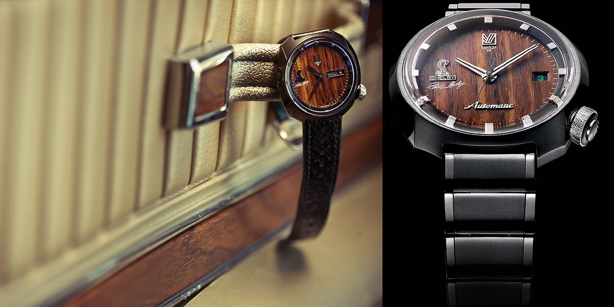 March Labs Shelby Limited Edition Wood Watch