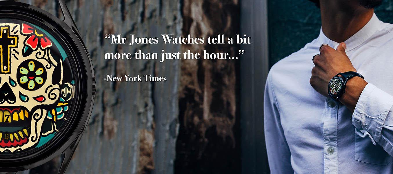 Mr. Jones Last Laugh Tattoo Automatic Watch