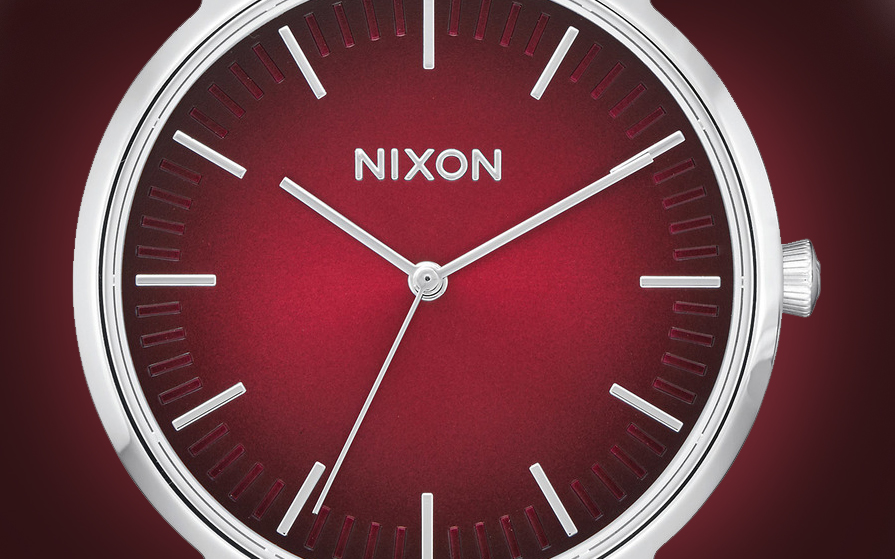 Nixon Porter Oxblood Watch