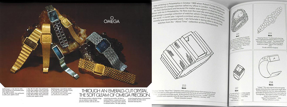 Omega About Time Watches