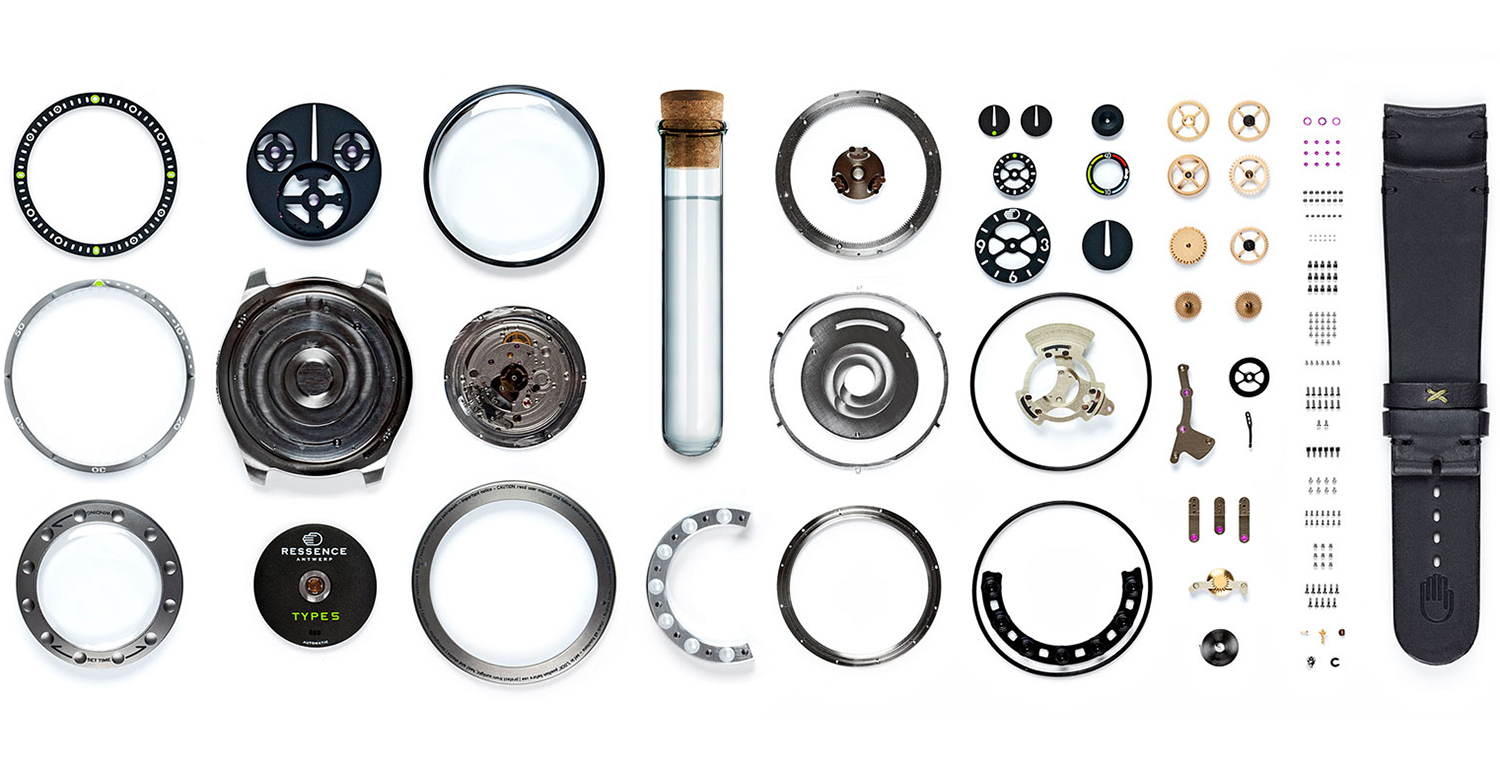 Ressence TYPE 5 324 Components