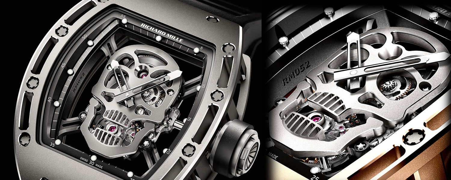 Richard Mille RM025 Tourbillon Skull Watch