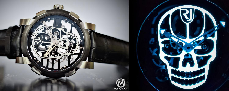 Romaine Jerome Skylab 48 Speed Metal Skull Watches