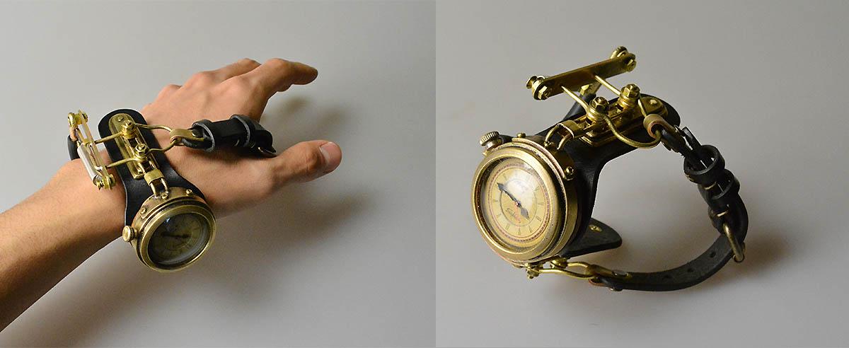 Sueyoshi Haruo Steampunk Timepiece
