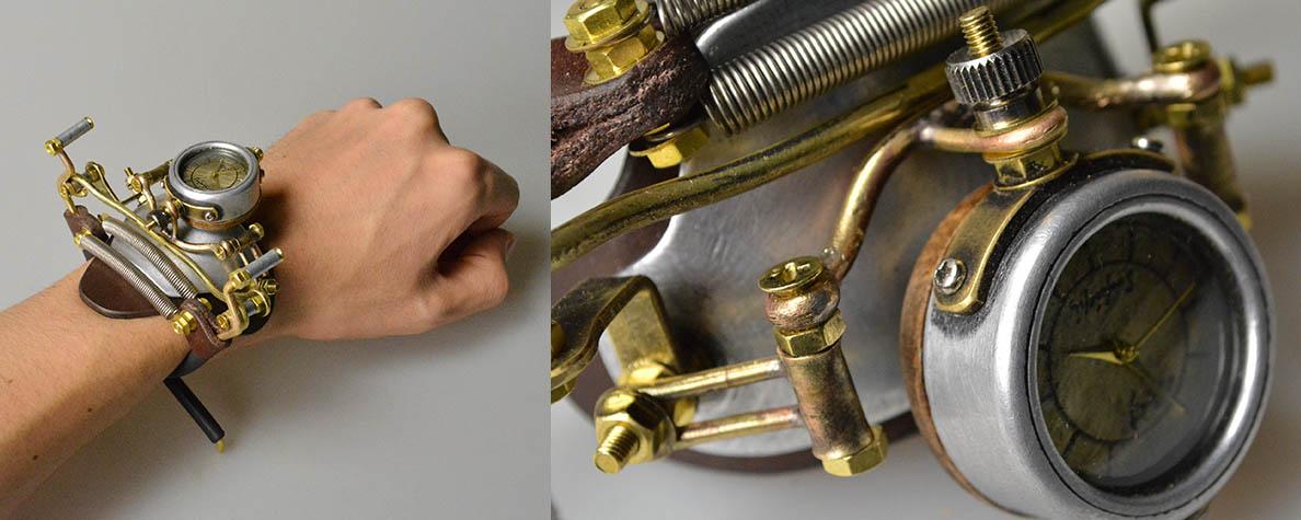 Steampunk Timepiece