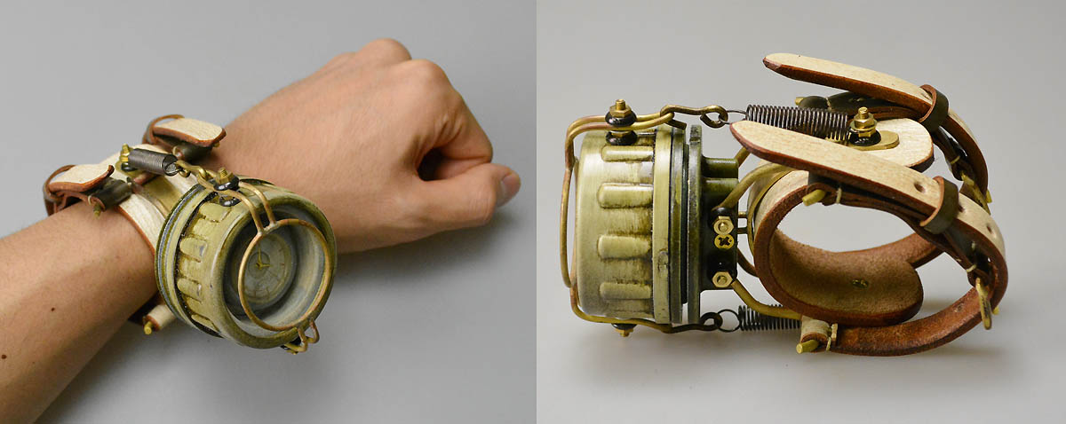 Sueyoshi Haruo Steampunk Watches