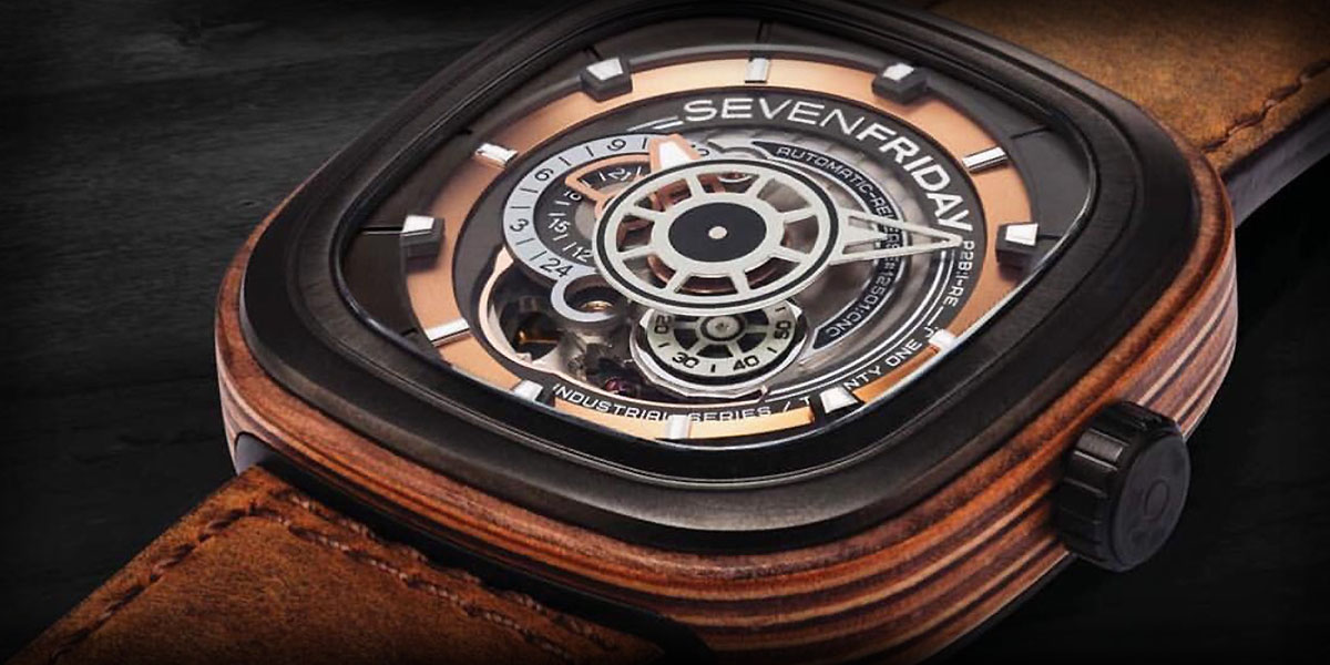 SevenFriday Woody Limited Edition Watch