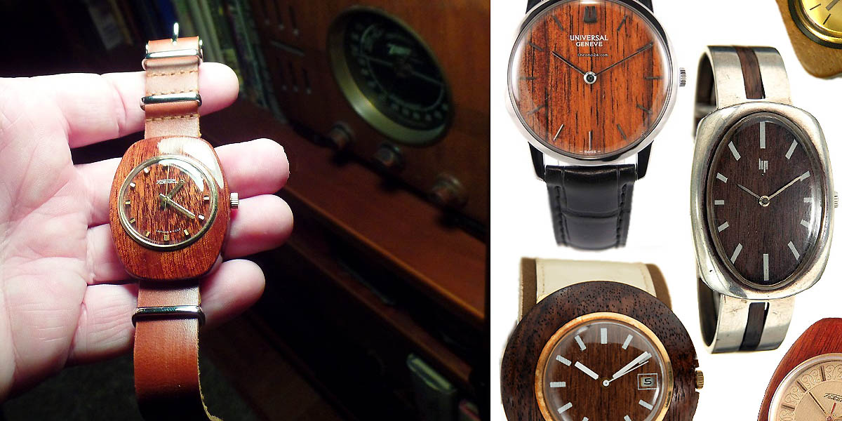 Vintage Wood Watches