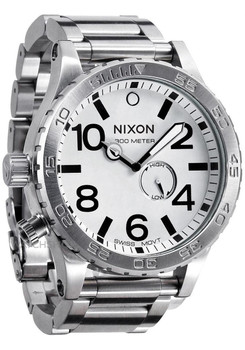Nixon 51-30 Steel/White