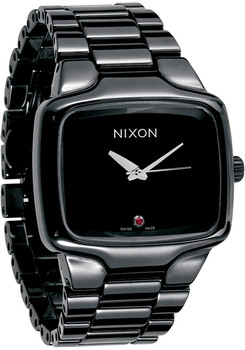 Nixon Swiss Ceramic Automatic Player Black