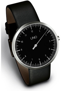 Botta UNO Black Single Hand Watch
