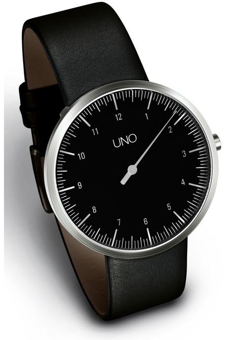 Botta UNO Black Single Hand Watch