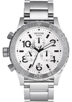 Nixon 42-20 Chrono Steel/White