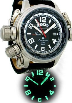 Aeromatic GMT Worldtime
